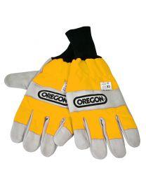 Oregon handschoenen met dubbele zaagbescherming maat M