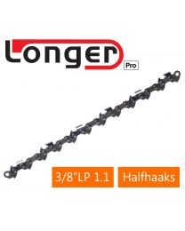 Speciale maat zaagketting Longer PRO 3/8LP 1.1 halfhaaks (A0)