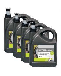 Voordeelpakket 4x Aspen Bio Chain 5l. (Biologisch)