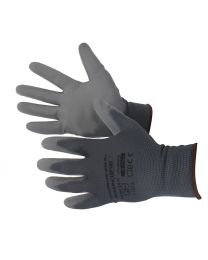 Werkhandschoenen met slijtvaste polyurethaanbekleding maat M