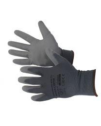 Werkhandschoenen met slijtvaste polyurethaanbekleding maat L